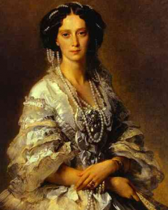 Portrait of Empress Maria Alexandranova 1858