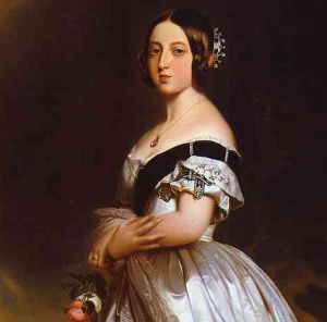 Queen Victoria in a Diamond Tiara