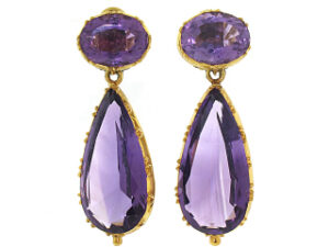 Belle Epoque Amethyst Earrings