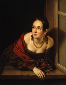 Portrait of a Woman with a Gold Necklace