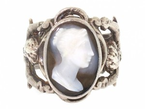 Antique Arts and Crafts Cameo Ring