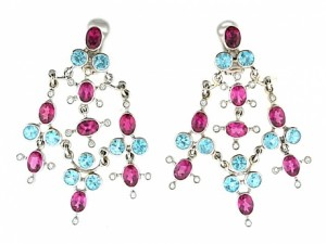 Laura Munder Chandelier Earrings