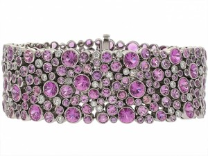 Tiffany and Company Pink Cobblestone Bracelet