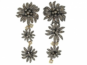 H. Stern Victoria Diamond Flower Earrings