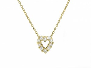 Roberto Coin Diamond Heart Pendant