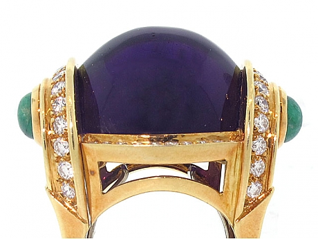 The Look For Less — Amethyst Rings, the February Birthstone