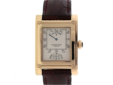 Cartier Collection Privee Jump Hour Watch
