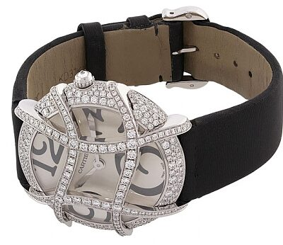 Cartier Diamond Ronde Folle Watch