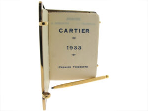 Exceptional Cartier Art Deco Writing Journal and Pencil