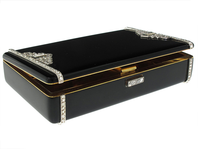 A Glittering Life — An Exceptional Cartier Art Deco Box and the Woman who Owned It