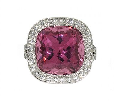Tiffany and Co Pink Spinel Ring