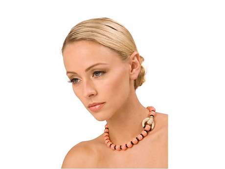 The Look for Less  – Colorful Coral Bead Necklaces!