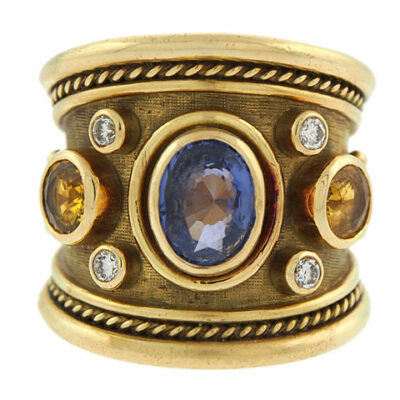 Elizabeth Gage Tapered Templar Ring