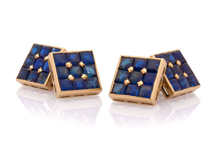 French-Sapphire-Square-Cufflinks-in-18K