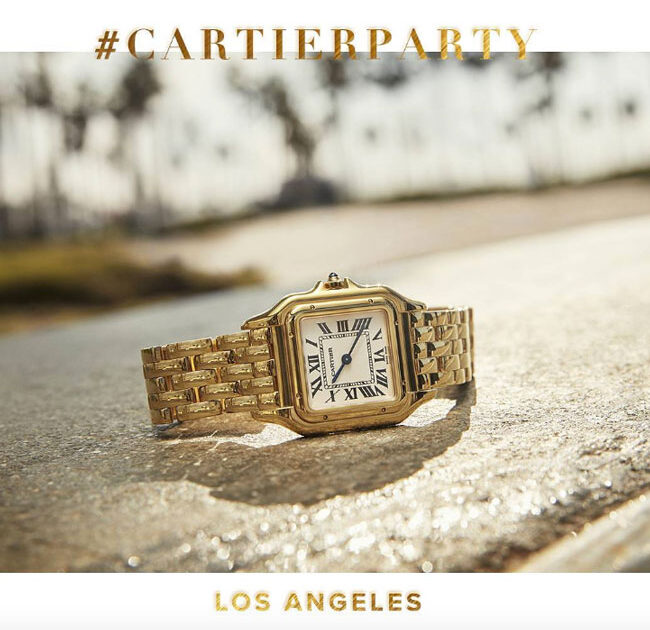 Cartier Fête's The Relaunch of Their Iconic Panthère de Cartier Collection