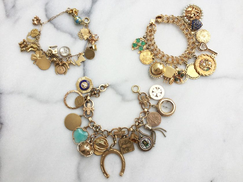 Charmed, I'm Sure: The Lure and Luxe of Charm Bracelets