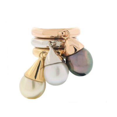 christian dior pearl rings