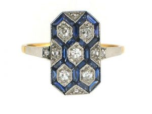 Shop Vintage Art Deco Rings