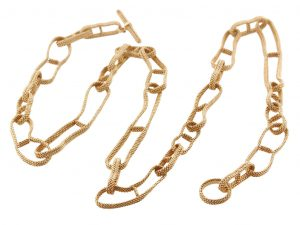 Hermes Chain D'Ancre Long Necklace