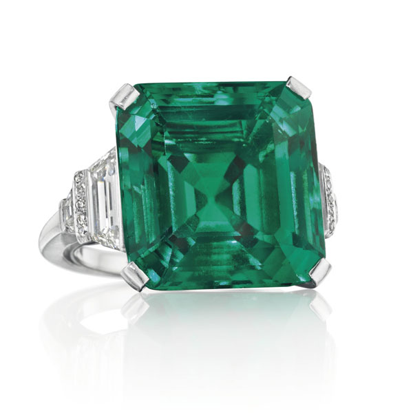 The Rockefeller Emerald and the Enduring Allure of the Gorgeous Green Stone