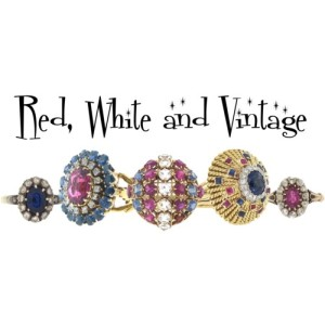 Vintage and Antique Ruby, Rubellite, Sapphire and Diamond Rings
