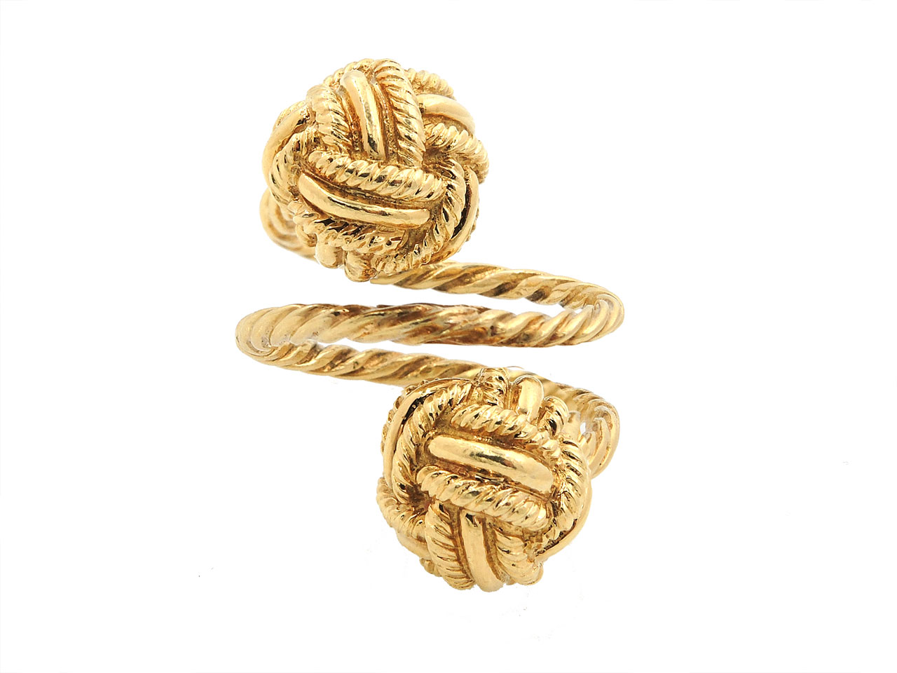 Tiffany Co Schlumberger Knot Ring In 18k Gold For Sale From Beladora Beladora